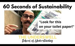60 Seconds of Sustainability #2 – What to look for on your toilet paper!