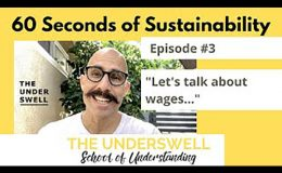 60 Seconds of Sustainability #3 – Wages