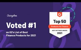 Chargebee ranked #1 among all Finance Products in 2021 by G2 Crowd