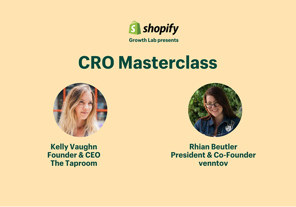 CRO Masterclass: Uncovering revenue opportunities on your website