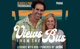 Views from the Bus: Beaver & Pam Theodosakis, prAna