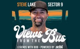 Views from the Bus: Steve Lake of Sector 9