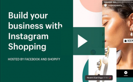 Build your business with Instagram Shopping